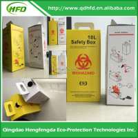 Hospital 5L Medical Biohazard Waste Box