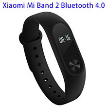 IP67 Waterproof for Xiaomi Mi Band 2 Smart Bracelet Bluetooth with OLED Touch