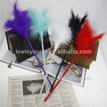 Christmas Gifts Ideas Feather Fluffy Ball Pen