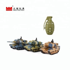 Multifunctional toy 1:77 rc battle tank for kids