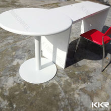 bulk order price eating table with chair, solid surface stone eating tables