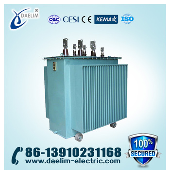 S9 Series 11kv 315kva Amorphous Alloy Distribution Transformer