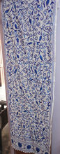 embroidered suzani handmade work designer pure cotton hand made scarf stole muffler