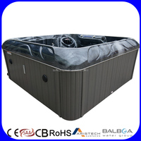 6 Persons USA Wifi Balboa Control Spa Outdoor Whirlpool