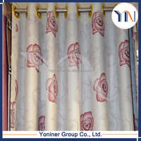 Printed blackout curtian fabric/ shower curtain/ string curtain