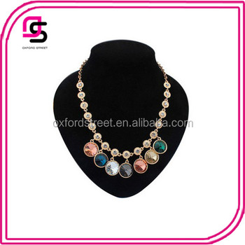 2016 Tendency queen round coin shape india coin necklace choker necklace