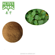 100% nature product Lemon Balm Extract powder