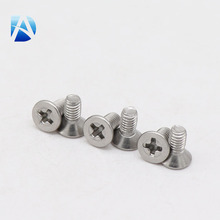 Wholesale Phillips Cross Recessed Countersunk Head Machine Screws in flush end