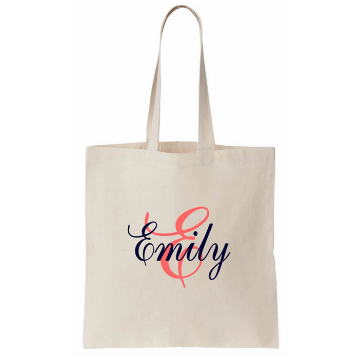 Promotional Logo Printed Custom Canvas Cotton Tote Bag Canvas Bag