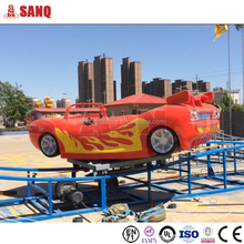 Amusement Equipment fiberglass body mini flying car games for kids