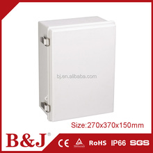 B&J Hot Sale 270x370x150mm Waterproof Plastic Electrical Panel Boxes With Hinge