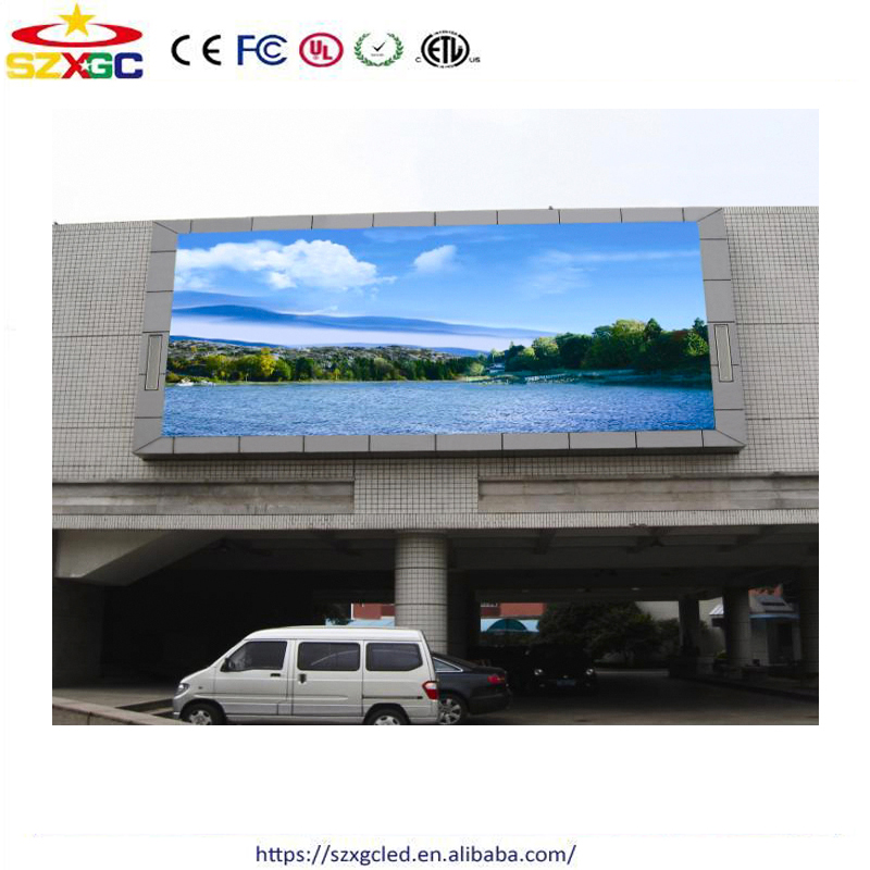 Epoxy paint coated SMD full color P10 outdoor led screen display with CE & RoHS