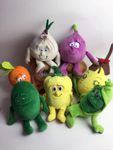 High quality cute and lovely stuffed plush vegetables toy