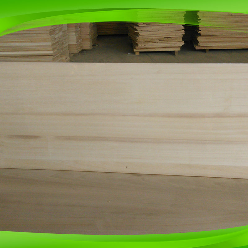 paulownia edge glued panels