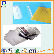 clear flexible vinyle PVC film for clear plastic book cover protector
