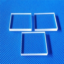 HM round tempered 3mm clear sheet glass