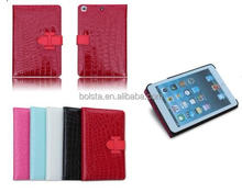 New design Leather Smart Stand Case Cover for ipad mini retina