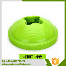 China wholesale Plastic Football plastic agility field soccer marker training cones