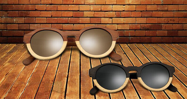 In stock no MOQ High quality wooden frames meet CE/FDA eyeglasses sun glasses