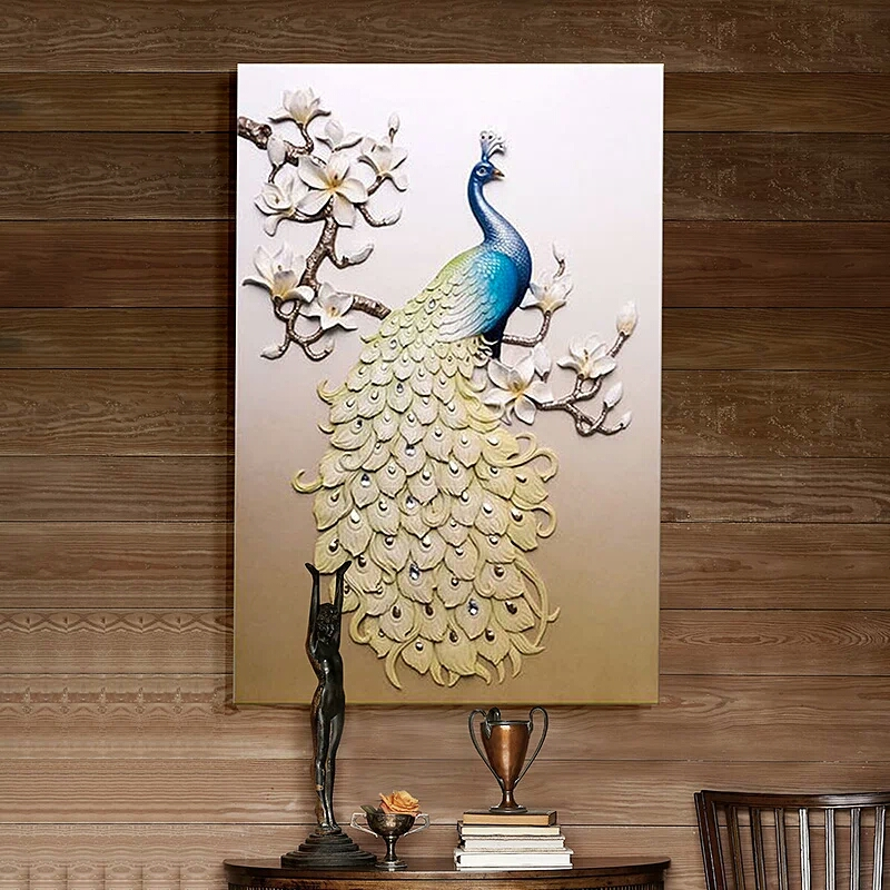 Interior Wall Living Room Decoration 3d Abstract Painting