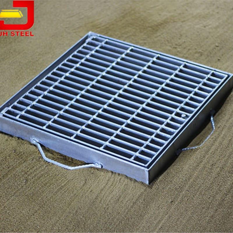 Concrete Floor Gutter Metal Driveway Drainage Cover Grate - Buy ...