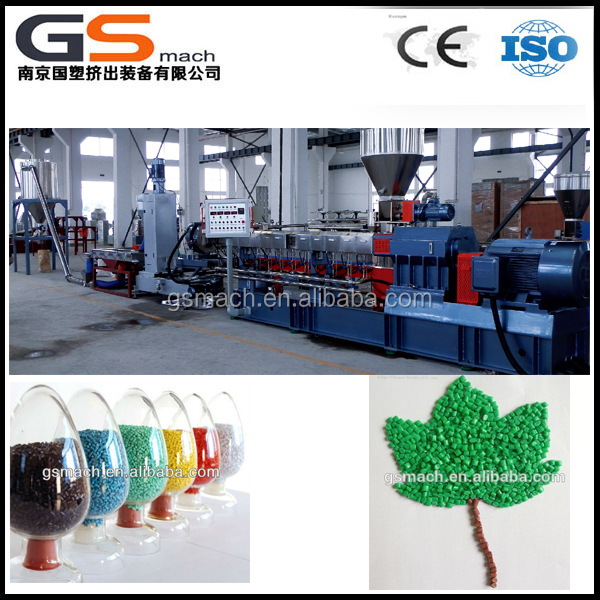 Plastic compound pelletizing machines,Plastic Colored Pellets Making Machine
