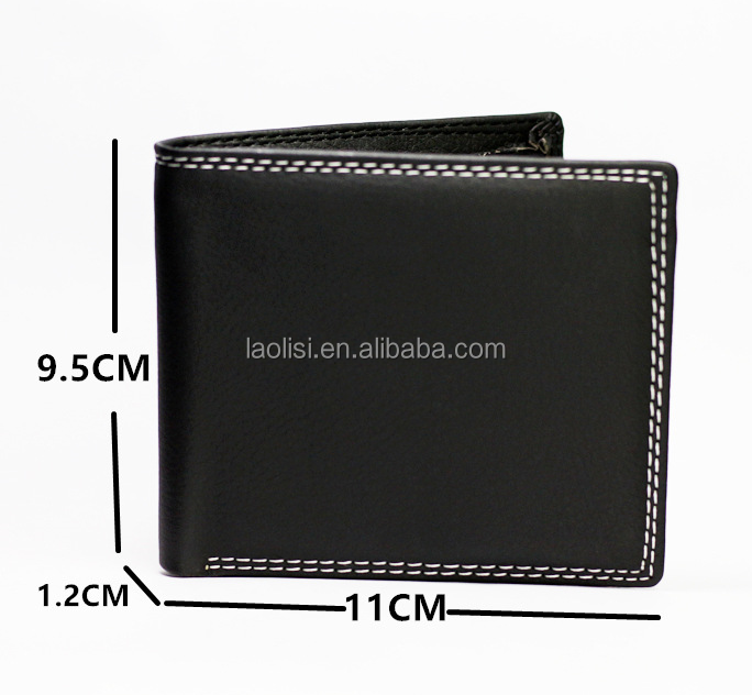 hot sale new products for 2017 men PU wallet