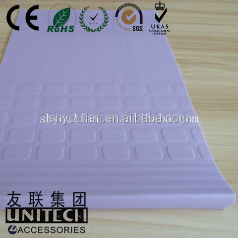 Non-slip Step Cover Elegant Outlook Plastic Stair Nosing