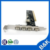 China pci to sound 4ch card with CE