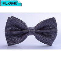 Dark purple Micro fiber bow tie, polyester Fashion bowtie PL0940