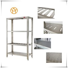 Assembling Restaurant Stainless Steel Commercial Kitchen Plate Storage Rack