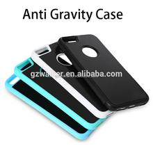 Sticky Mobile Phone Accessories Case Hand Free Anti Gravity Phone Case For iphone 6 case cover