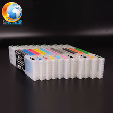 11 Colors T6531-T6539 T653A T653B Empty Refillable Ink Cartridge With Chip For Epson Stylus PRO 4900 Printer ( 300ML/PC )