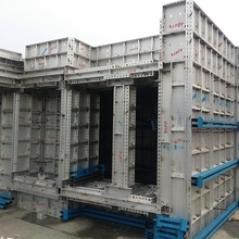 aluminium alloy formwork system for home construction