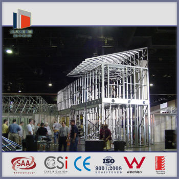 Steel house designing,luxury prefabricated home