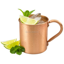 Hammered pure absolut 100% solid manufacturer moscow mule copper mugs wholesale for smirnoff vodka and ginger beer/cocktail