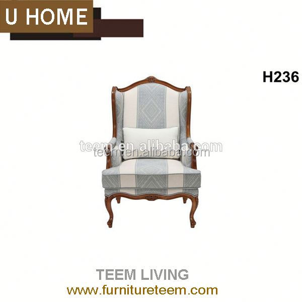 U-Home living room furniture modern cowhide chair