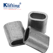 DIN 3093 aluminium ferrules for steel wire rigging lifting point
