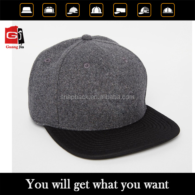 Custom snapback with your own logo wool snapback wholesale