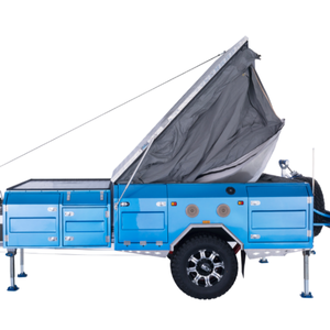 australian standards Rear Fold Camper Trailer With Canvas Tent