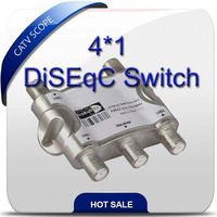 4 in 1 DiSEqC switch for receiver