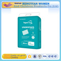disposable incontinence adult nursing underpad with PE film