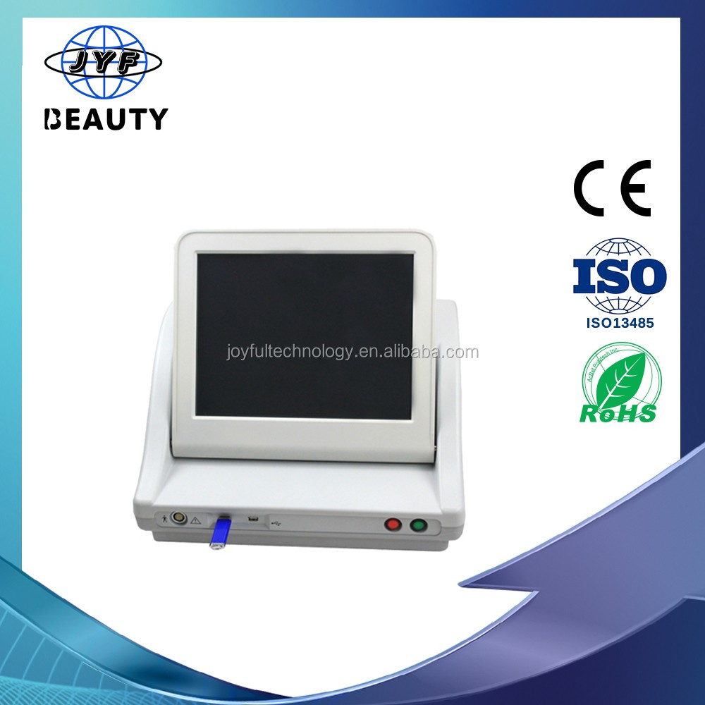 2016 latest high intensity focused ultrasound HIFU for skin tightening portable hifu machine ultrasound