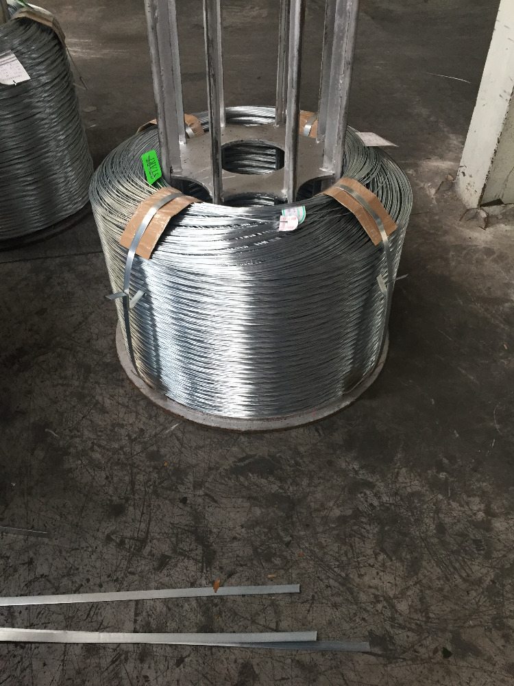 2.8 mm High quality galvanzied steel wire for barbed wire/Big company/Stable supplier/