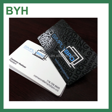 Custom embossed printing paper business name card UV design paper card