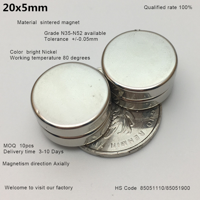 coin shape round magnetic