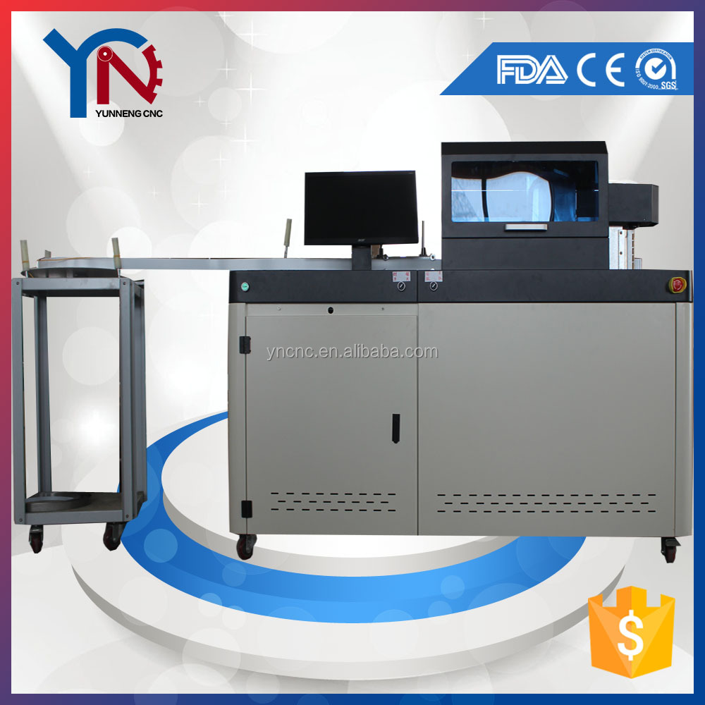 CNC Automatic channel letter bender channel letter copper busbar bending machine
