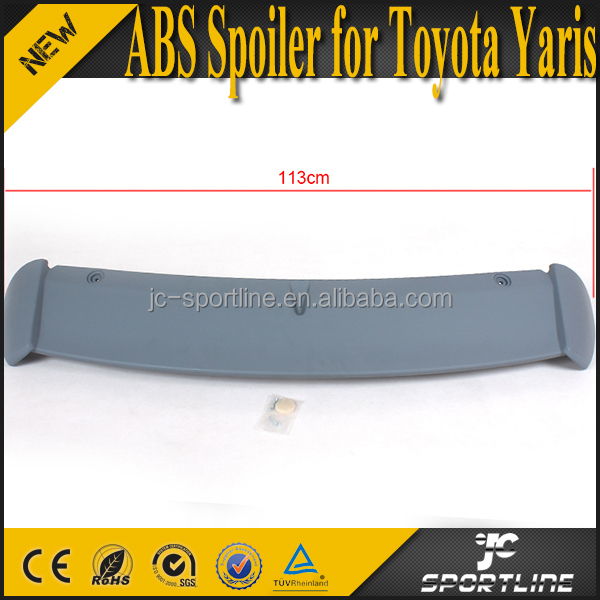 ABS Big Rear Bumper Spoiler Wing for Toyota Yaris