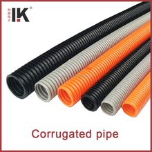 Plastic flexible conduit of cable protector