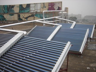 Dongguan Beinuo Pool Heater Solar Collector Non-pressure water flow vacuum tube solar collector